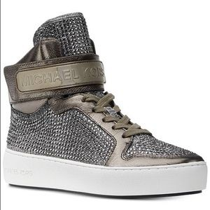MICHAEL Michael Kors Trent High-Top Sneakers SZ 6